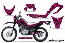 Dirt Bike Decal Graphic Kit MX Sticker Wrap For Yamaha XT250X 2006-2018 ZEBRA P