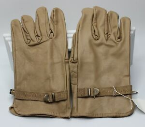 New Coyote Brown D3-A Leather Military Style Work Gloves