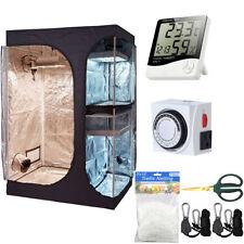 New listing 60''x48' 'x80'' 2-in-1 Hydroponic 600D Mylar Indoor Grow Tent Kit w/ Accessories