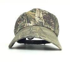 Jack Rabbit Embroidered Logo Camo Baseball Cap Hat Adj Adult Size Cotton Poly