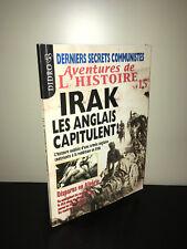 Magazine AVENTURES DE L'HISTOIRE N° 15 - 2003 : IRAK LES ANGLAIS CAPITULENT BC9A