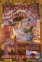 "ATTRACTION POSTER 36x54"" Pirates of the Caribbean Disneyland Paris ride prop BIG"