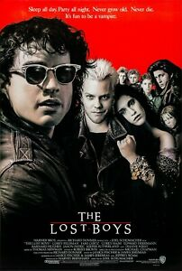 The Lost Boys (1987) Movie Poster, Original, SS, Unused, NM, Rolled