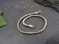 Schönes 925 Silber Armband Schlangenarmband Modern Unisex Damen Herren Edel