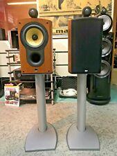B&W 805 S High End Lautsprecher paar in Kirsche + original Stands