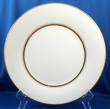 "Noritake Gloria Dinner Plate White with Gold 10.5"" ca 1970 6526"