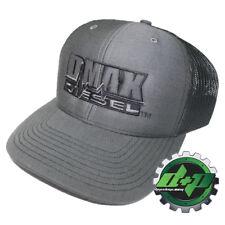DMAX™ Richardson 112 Diesel truck cap snapback mesh hat Chevy Duramax charcoal