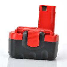 Top Rot/Schwarz Ersatz Akku für Bosch 2607335263 GSB GSR PSR 14.4 VE-2 VE2 1,5Ah