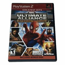 Marvel Ultimate Alliance Special Edition Playstation 2 PS2 Complete Works Tested