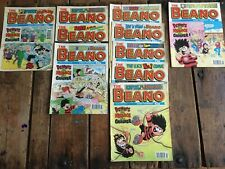 Beano Comics: 10 issues from 1994 - 1997