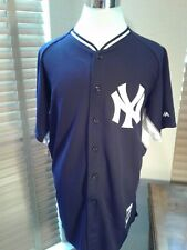 MAJESTIC Authentic Derek Jeter New York Yankees Jersey Size 48  P10701