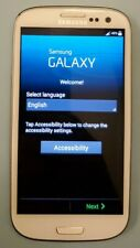 Samsung Galaxy S3 S III SPH-L710 Boost Mobile White, Clean ESN w/ Fast Charger