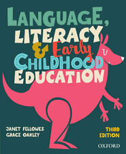 NEW Language, Literacy And Early Childhood Education By Janet Fellowes Paperback