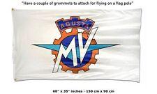 FREE SHIP TO USA AGUSTA MV Flag Banner sign 3x5 feet f3 800 f4 bike motorcycle