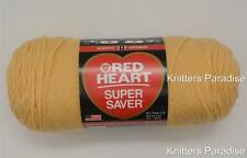 Red Heart Super Saver Yarn, Color- CORNMEAL, Four Ply, Acrylic. One Skein