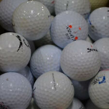 200 ASSORTED USED PRACTICE GOLF BALLS WITH BONUS 100 TEES