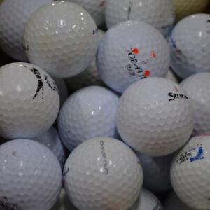 200 ASSORTED USED PRACTICE GOLF BALLS WITH BONUS 100 TEES