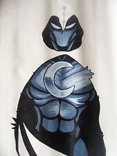 Moon Knight 28x16  painting NOT print Framing Avail.Batman Daredevil Spiderman