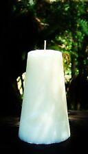 Huge 220hr WHITE DIAMONDS Perfume Triple Scent CONE CANDLE Womens Fragrances