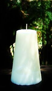 220hr Ivory Cream BEAUTIFUL Estee Lauder Perfumed DELUX CONE CANDLE Natural Wax