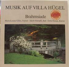 MUSIK AUF VILLA HÜGEL BRAHMSIADE GILLES STÄMPFLI KRAUS 2-LP BOX (d616)