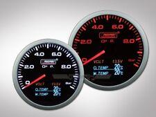 Prosport 4in1 Öldruck Anzeige (inkl. Öltemperatur, Wassertemperatur, Volt)