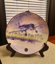 """Awesome 1996 Pva Collector Plate """"Dawns Early Light� David Wayne Russell"""
