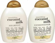 OGX Organix Shampoo & Conditioner Combo COCONUT MILK 13oz ea PRIORITY***