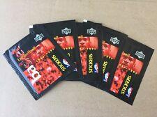 lot 5 Packs Stickers 1997/98 Upper Deck cartes NBA Basketball Jordan