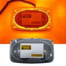 240 LEDs Light Bar Roof Top Yellow Amber Emergency Beacon Warning Flash Strobe