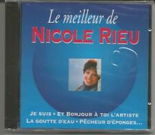 NICOLE RIEU - Le Meilleur -  CD 1994 - NEU/OVP/NEW/Sealed/NEUF