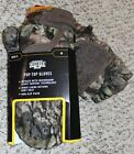 NEW Mens Mossy Oak BreakUp Country Pop-Top Gloves/Mittens Non-Slip Scent Control
