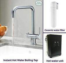 Nes Home 3 in 1 Instant Boiling Hot/Cold Water Kitchen Filter Tap Heating Unit