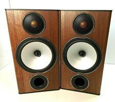 MONITOR AUDIO BRONZE BX2 2 way Bookshelf Speakers - Walnut