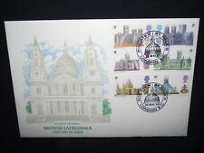 GB first day cover 1969 cathedrals with a Philatex St Pauls London cancel.