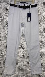 Mens 28 Waist - 31 Leg - BNWTS - Next Signature Slim Fit Chino Trousers £32 Tag