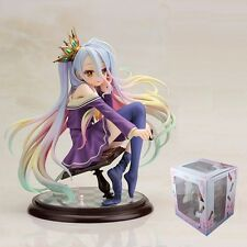 "NO GAME NO LIFE White Shiro 16cm / 6.4"" PVC 1/7 Scale Pre-Painted Figure NIB"