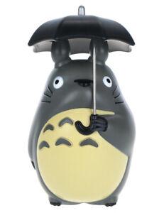 Mein Nachbar Totoro Figur Sammelfigur von Totoro mit Regenschirm Deko   10 cm