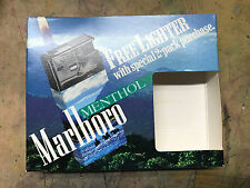MARLBORO MENTHOL CIGARETTE ADVERTISING LIGHTERS - NEW IN BOX