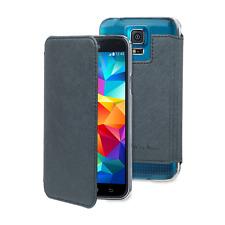 Muvit Made In Paris Crystal Folio housse etui coque Bleu pour Samsung Galaxy S5