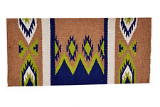 Western Brown Woolen 32 X 32 Saddle Pad With Pattern