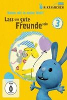 KIKANINCHEN-DVD 03 - LASS UNS GUTE FREUNDE SEIN  (DVD)  KINDERSERIE  NEU