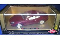 GUILOY G GOLD 67550 ASTON MARTIN DB7 diecast model road car maroon 1:18th scale