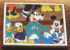 Disney PTU 08 Limited Edition Donald Goofy Mickey & Daisy Pep-Rally Pin / Brooch