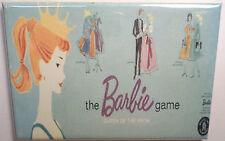 "Barbie Board Game Box 2"" x 3"" MAGNET Refrigerator Locker Retro Vintage"