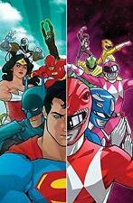Justice League/Power Rangers by Tom Taylor (2017, Hardcover) DC Comics
