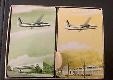 F H 227-B Fairchild Aircraft Playing Cards 1949-1950's Dbl Deck
