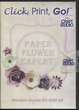 Click, Print, Go - Paper Flower Expert Exclusive Double CD Rom Set
