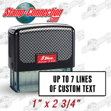 Shiny 855 (Ideal 200 Size) 5, 6, or 7 Line Self-Inking Stamp