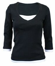 New Look Women's Cotton Tops & Shirts